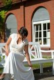 Państwa Młodzi małżeństwa pojęcie fotografia royalty free