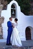 Państwo Młodzi, Agios Nikolaos Zdjęcie Stock