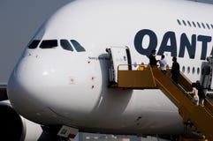 październik 380 Airbus 2008 rozwolnień Październik obraz stock