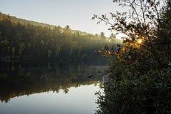 Października ranek Zdjęcia Royalty Free