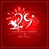 29 Października republiki Krajowy dzień Turcja Fotografia Royalty Free