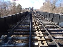 PA Питтсбург уклона Duquesne стоковое фото rf