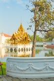 PA челки в дворце Ayutthaya Стоковое фото RF