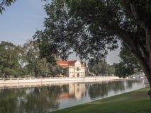 PA челки в дворце в Таиланде Стоковое Изображение RF