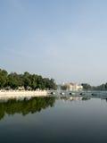 PA челки в дворце в Таиланде Стоковые Изображения