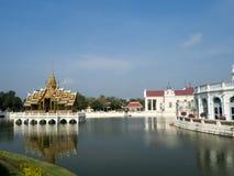 PA челки в дворце в Таиланде Стоковые Фотографии RF