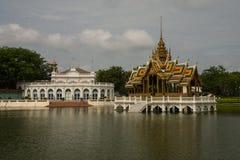 PA челки в дворце в Ayutthaya Стоковое Фото