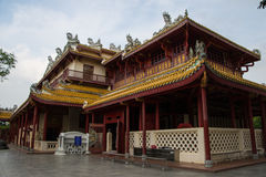 PA челки в дворце в Ayutthaya Стоковые Фотографии RF