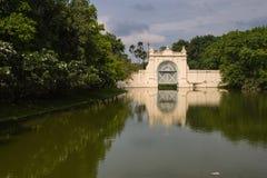 PA челки в дворце в Ayutthaya Стоковое фото RF