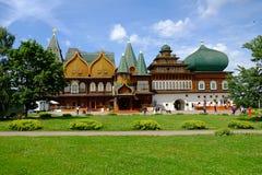 Pałac Alekhsey Mikhailovich w Kolomenskoe Fotografia Stock