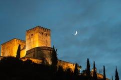 Pałac Alhambra w Granada Zdjęcie Royalty Free