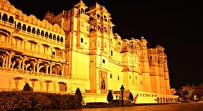 Pałac blisko Pichola jezioro Zdjęcie Royalty Free