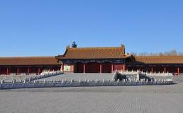 Pałac brama Niedozwolony miasto Zdjęcia Stock