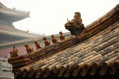 pałac dach Zdjęcia Stock