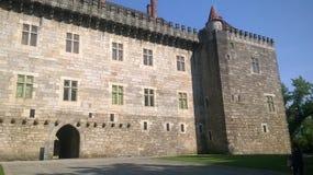 Pałac diucy Guimarães Fotografia Stock
