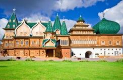 pałac drewniany Obrazy Stock