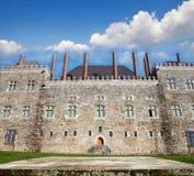 Pałac Duques De Braganca, Portugalia Zdjęcie Stock