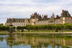 Pałac Fontainebleau Zdjęcia Royalty Free