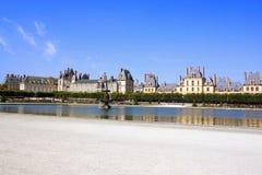 Pałac Fontainebleau, Francja Obraz Stock