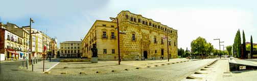 Pałac infantado Guadalajara Spain Zdjęcia Stock