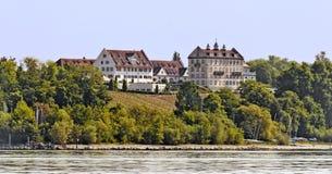 Pałac Kirchberg przy Immenstaad Zdjęcia Stock