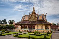 pałac królewski Obrazy Royalty Free