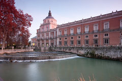 Pałac królewski Aranjuez Zdjęcie Stock