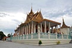 Pałac królewski Cambodia Zdjęcia Royalty Free
