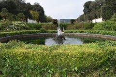 Pałac królewski Caserta fontanna Obrazy Royalty Free