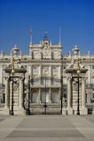 pałac królewski madryt Obrazy Royalty Free