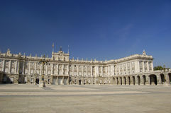 pałac królewski madryt Obraz Stock