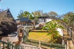Pałac królewski w Ambohimanga Zdjęcie Stock