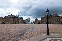 Pałac Królewski w Kopenhaga. Zdjęcia Royalty Free
