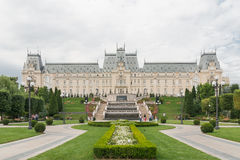 Pałac kultura IASI, Rumunia Zdjęcia Royalty Free