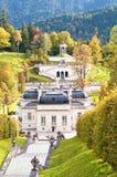 Pałac Linderhof Obrazy Royalty Free