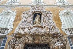 Pałac Markiz De Dos Aguas, Krajowy Ceramics muzeum Gonzale Obrazy Royalty Free