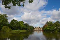 Pałac na wodzie Zdjęcie Stock