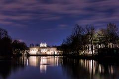 Pałac na wyspie Zdjęcia Royalty Free