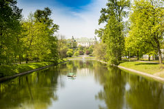 Pałac na wyspie, Zdjęcia Royalty Free