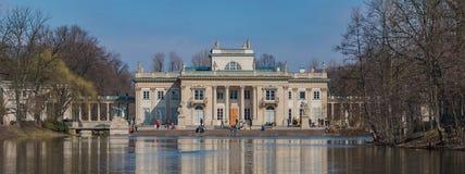 Pałac na wyspie III Obrazy Royalty Free