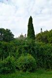 Pałac ogród Obrazy Royalty Free