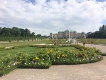 Pałac ogródy Fotografia Stock