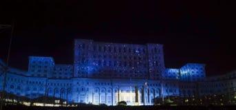 Pałac Parlament zdjęcia stock