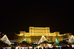 Pałac Parlament Zdjęcie Royalty Free