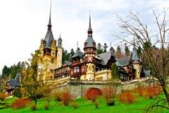 pałac peles Zdjęcia Royalty Free