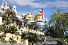 pałac pena Portugal sintra Fotografia Stock