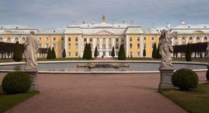 pałac peterhof petroverts Zdjęcie Stock
