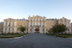 pałac Petersburg Russia st vorontsov Zdjęcia Royalty Free
