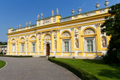 pałac Poland Warsaw wilanow Zdjęcie Stock