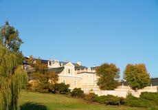 pałac pospolity widok zdjęcia stock